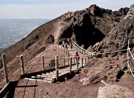 The concert inside the caldera: jamming with Vesuvius